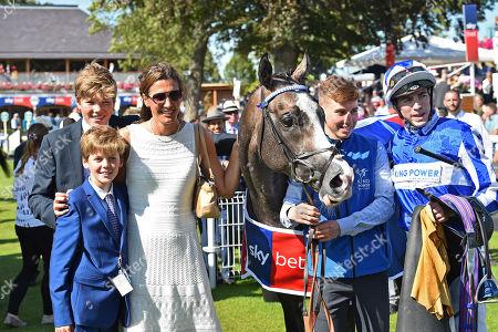 Editorial photo of Horse Racing, York Racecourse, UK - 24 Aug 2019