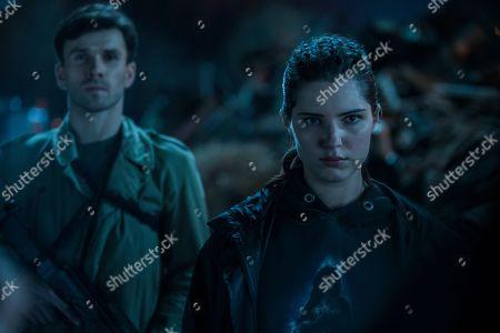 Stock Picture of Krzysztof Wach as Maciej Mac and Michalina Olszanska as Ofelia 'Effy' Ibrom