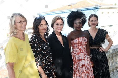 Francoise Nyssen, Jacqueline Bisset, Maripier Morin, Roukiata Ouedraogo and Bettina Oberli