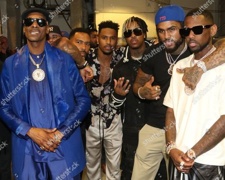Snoop Dogg & Omari Hardwick & Trey Songz & Jeremih & Dave East