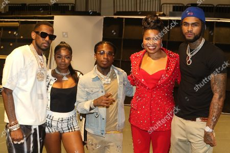 Stock Image of Fabolous & Seandrea Sledge & Jaquees & Courtney A Kemp & Dave East