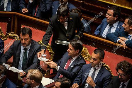 Editorial image of Italian Premier addresses the Senate of the Republic, Rome, Italy - 20 Aug 2019