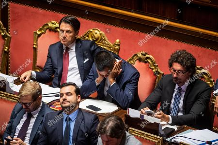 Editorial image of Italian Premier addresses the Senate of the Republic, Rome, Italy - 20 Aug 2019