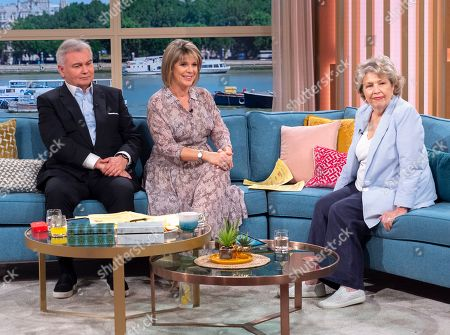Eamonn Holmes and Ruth Langsford with Anne Reid