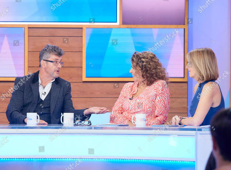 Joe Pasquale, Nadia Sawalha and Kaye Adams