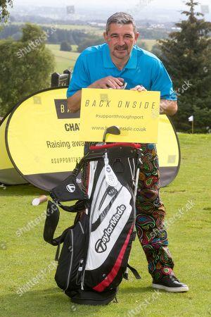 Editorial image of 'Back Onside' celebrity golf day, Glasgow, Scotland - 21 Aug 2019