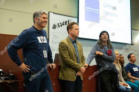 Justin Brooks, Greg Kinnear and Tom Shadyac Director