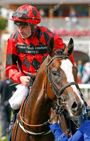 VALDERMORO (Tony Hamilton) after The Tattersalls Acomb Stakes York