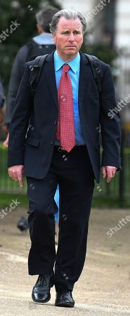 Sir Oliver Letwin MP, walking in St James' Park
