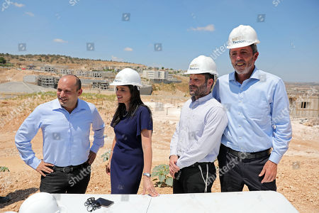 Editorial photo of Right-wing party 'Yemina' launch the party housing solution plan, Elkana, --- - 21 Aug 2019