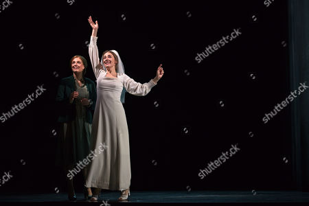 Stock Picture of Wallis Giunta as Dodo McNeill and Sydney Mancasola as Bess McNeill