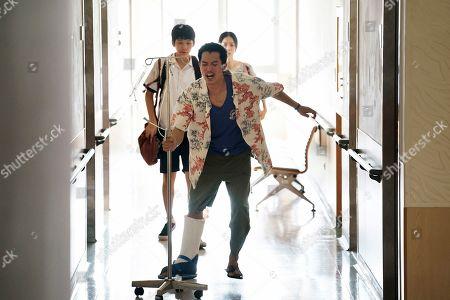Joseph Huang as Song Chengxi, Roy Chiu as Jay and Ying-Xuan Hsieh as Liu Sanlian