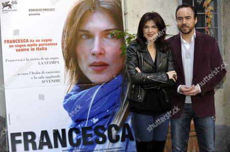 Monica Birladeanu and Writer and Director Bobby Paunescu