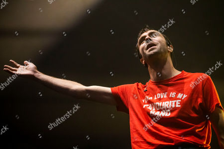 Stock Photo of The Vaccines - Justin Hayward-Young