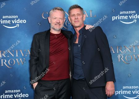 Jared Harris and Jamie Harris