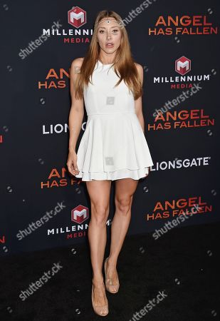 Editorial image of 'Angel Has Fallen' film premiere, Arrivals, Regency Village Theatre, Los Angeles, USA - 20 Aug 2019