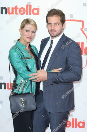 Michelle Hunziker and Tomaso Trussardi