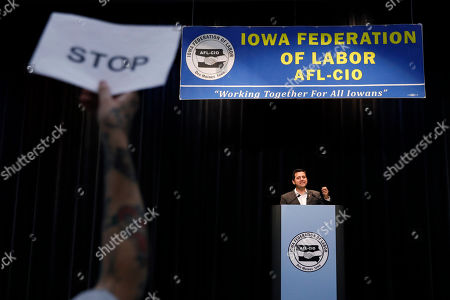 Editorial picture of Election 2020 Ben Gleib, Altoona, USA - 21 Aug 2019