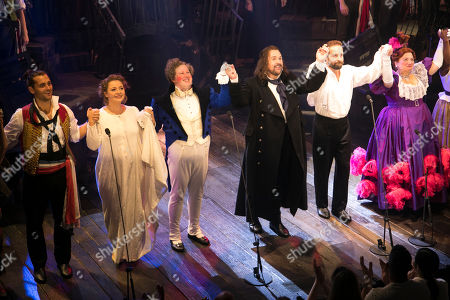 Editorial image of 'Les Miserables: Staged Concert' musical, Gala Night, London, UK - 21 Aug 2019
