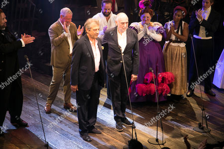 Alain Boublil (Author) and Claude-Michel Schonberg (Music) during the curtain call