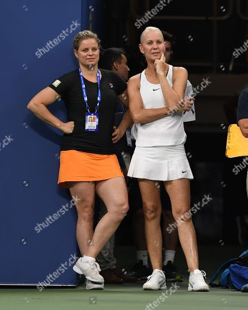Editorial picture of US Open Tennis Championships, Legends Match, New York, USA - 21 Aug 2019
