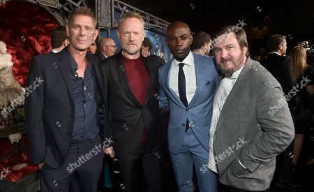Jamie Harris, Jared Harris, David Gyasi and Travis Beacham