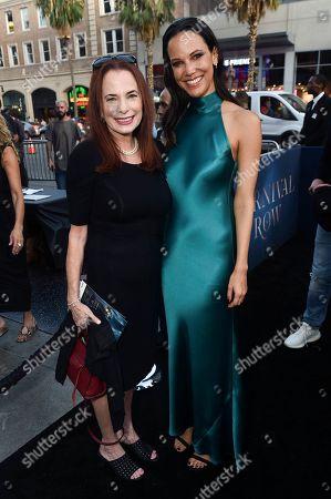 Stock Photo of Donna Rosenstein and Caroline Ford