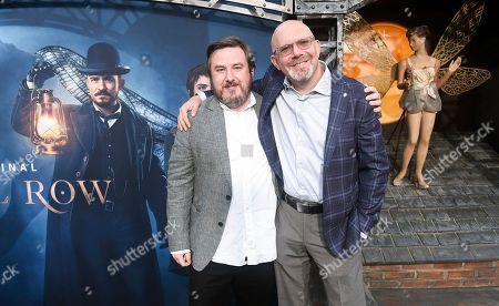 Stock Picture of Travis Beacham and Marc Guggenheim