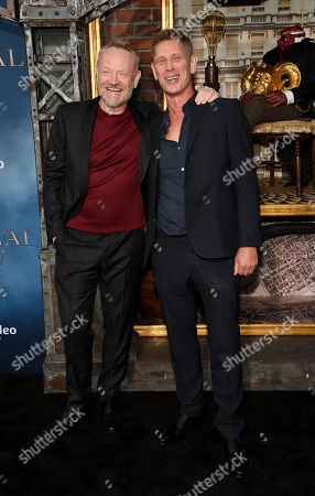 "Stock Image of Jared Harris, Jamie Harris. Jared Harris, left, a cast member in the Amazon Prime Video series ""Carnival Row,"" poses with his brother Jamie Harris at the premiere of the series at the TCL Chinese Theatre, in Los Angeles"