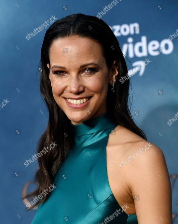 """Stock Photo of Caroline Ford, a cast member in the Amazon Prime Video series """"Carnival Row,"""" poses at the premiere of the series at the TCL Chinese Theatre, in Los Angeles"""