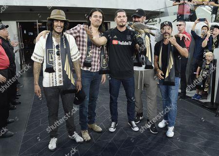 Richard Cabral, Antonio Jaramillo, J D Pardo, Clayton Cardenas and Michael Irby