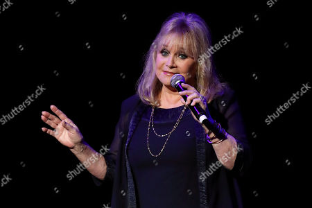 Stock Picture of Barbara Mandrell speaks at the 13th annual ACM Honors at the Ryman Auditorium, in Nashville, Tenn
