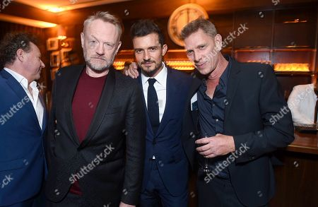 Jared Harris, Orlando Bloom and Jamie Harris