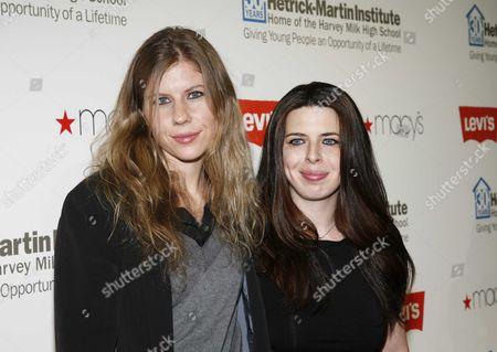Caroline Murphy and Heather Matarazzo
