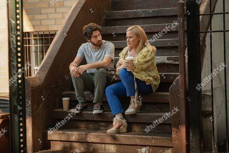 Jake Hoffman as Daniel Lieberman and Patricia Arquette as Gillian Lieberman
