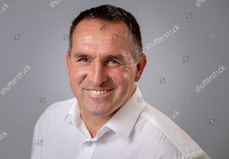 Aug 9th 2018 - Chesterfield  UK  - Chesterfield Manager Martin Allen