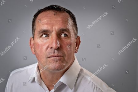 Martin Allen Manager Of Chesterfield Football Club. Aug 9th 2018 - Chesterfield  UK .