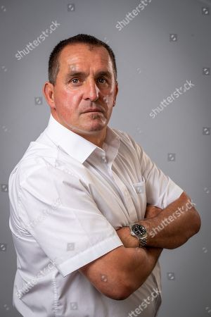 Editorial photo of Martin Allen Manager Of Chesterfield Football Club. Aug 9th 2018 - Chesterfield  UK .