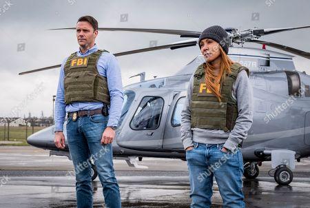 Joseph Millson as Agent Ramirez and Jada Pinkett Smith as Agent Thompson