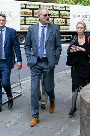 Editorial picture of John Leslie at Southwark Crown Court, London, UK - 22 Aug 2019