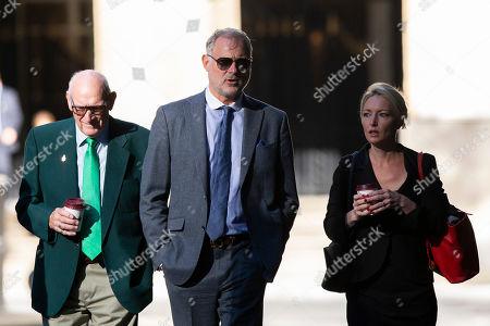 Editorial image of John Leslie at Southwark Crown Court, London, UK - 22 Aug 2019