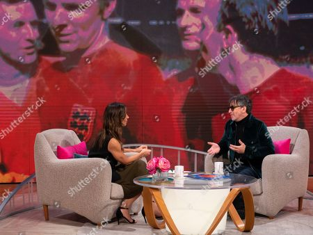 Stock Image of Christine Lampard and Ian Broudie