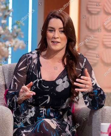 Editorial picture of 'Lorraine' TV show, London, UK - 22 Aug 2019