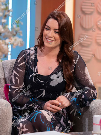 Editorial image of 'Lorraine' TV show, London, UK - 22 Aug 2019
