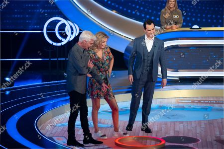 Phillip Schofield, Rachel Riley and Jimmy Carr.