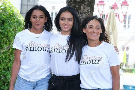 Myriam Djelji, Hafsia Herzi and Sophie Garagnon
