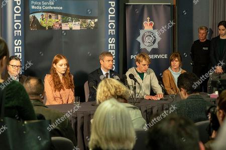 Ian Puleston-Davies as Mick O'Callaghan, Jessica D'Arcy as Lora, Martin Freeman as Steve Fulcher, Charlie Cooper as Kevin Reape, Siobhan Finneran as Elaine Pickford and Caroline Bartlett as DS Sarah Bilson.