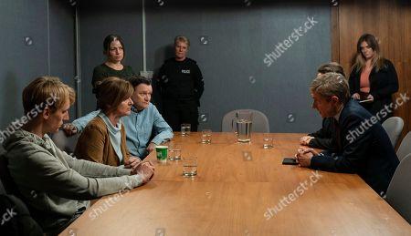 Charlie Cooper as Kevin Reape, Siobhan Finneran as Elaine Pickford, Ian Puleston-Davies as Mick O'Callaghan, Simone Lahbib as Debbie, Faye Mckeever as Debs Peach and Martin Freeman as Steve Fulcher.