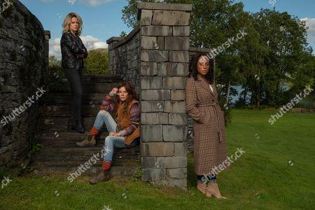 Anna Friel as Lisa Kallisto, Rosalind Eleazar as Kate Riverty and Sinead Keenan as Roz Toovey.