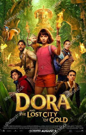 Editorial image of 'Dora and the Lost City of Gold' Film - 2019
